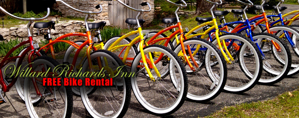 See the sites on a beautiful beach cruiser!
